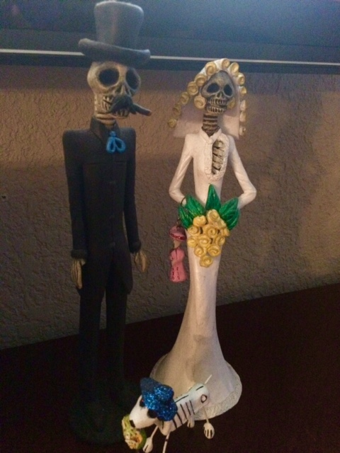 My family as a Day of the Dead painting…