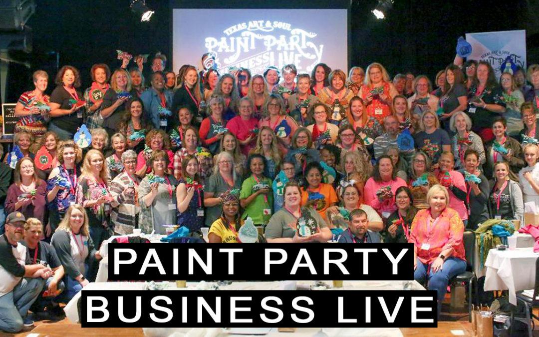 Paint Party Business Live 2019!