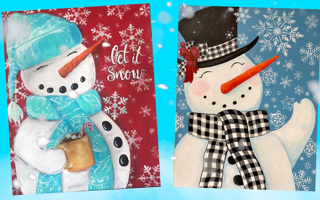 Parade of Snowmen!