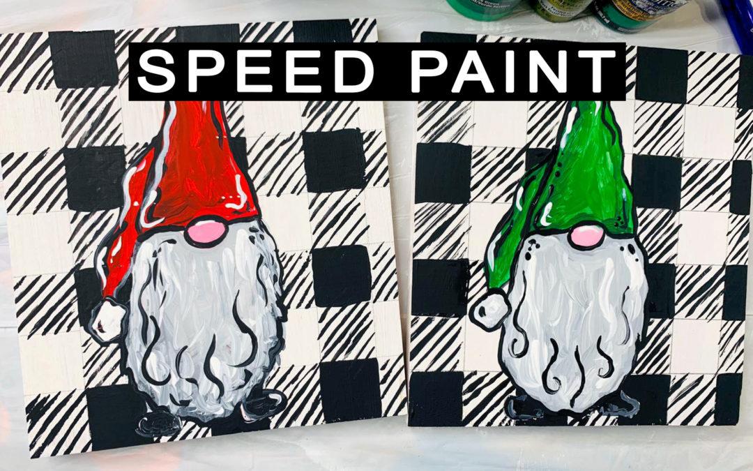 Santa and Elf Gnome Painting!