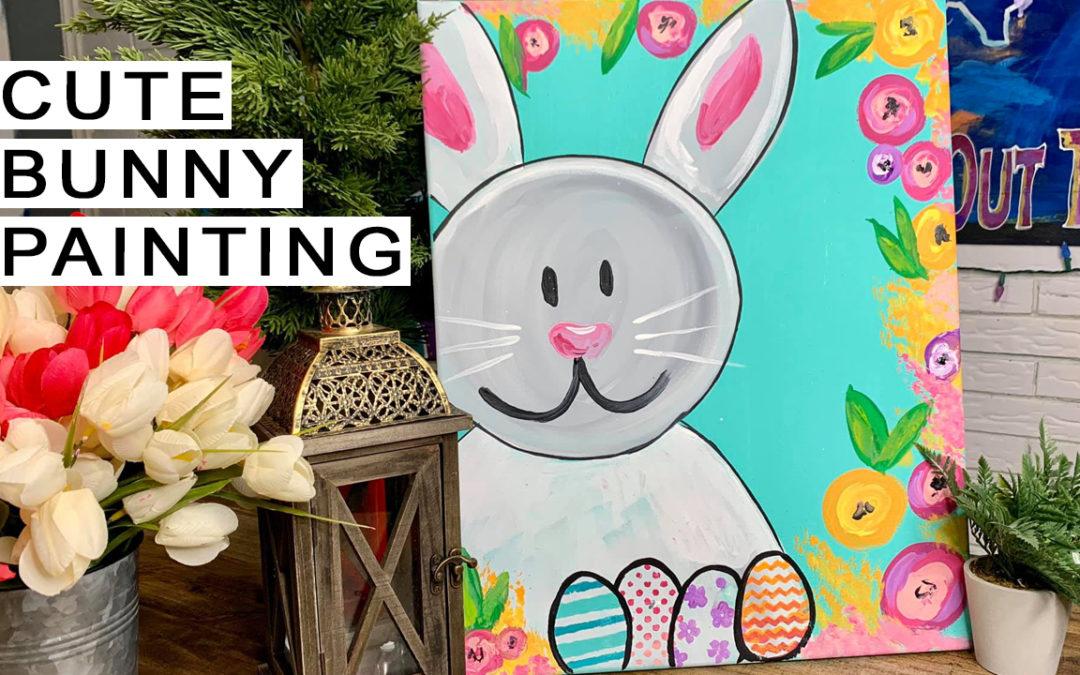 Spring Bunny Painting Tutorial