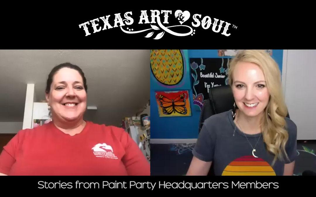 Meet Wendy Edmonds with Paint with Wen-Den!