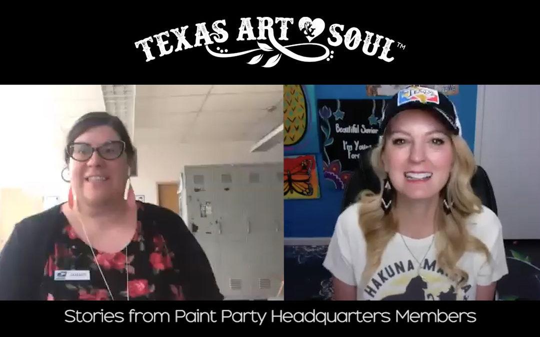 Meet Amanda! Postal Worker + Paint Party Business Owner!