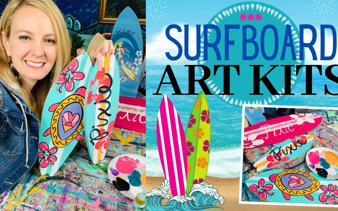 Create your own Surfboard Art Kit