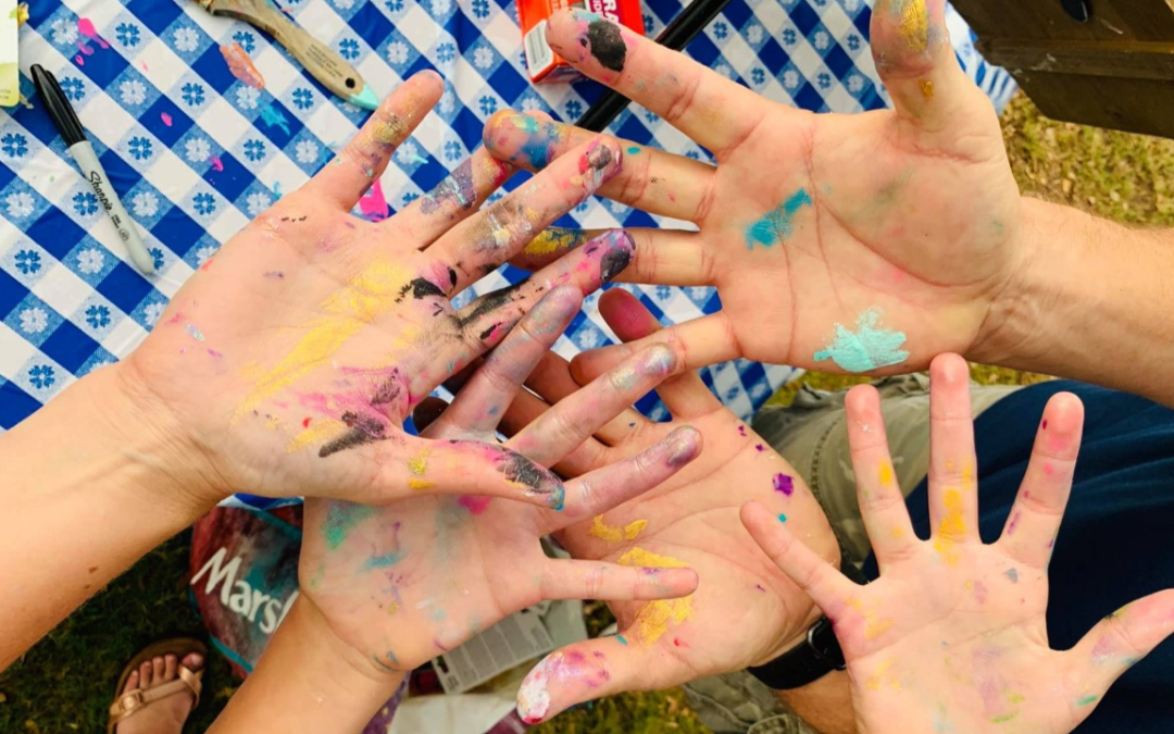 Get Kids Painting: Host a Fun, Messy Toddler Paint Party