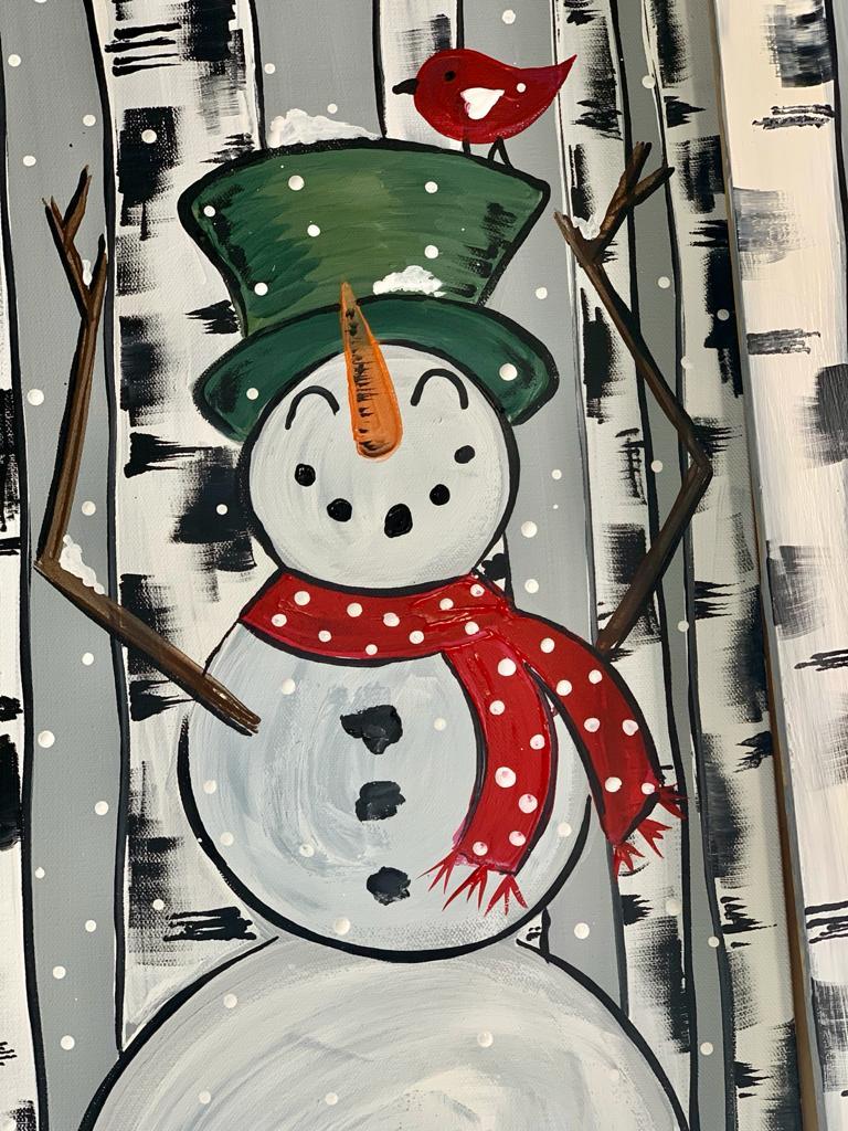 snowman porch leaner
