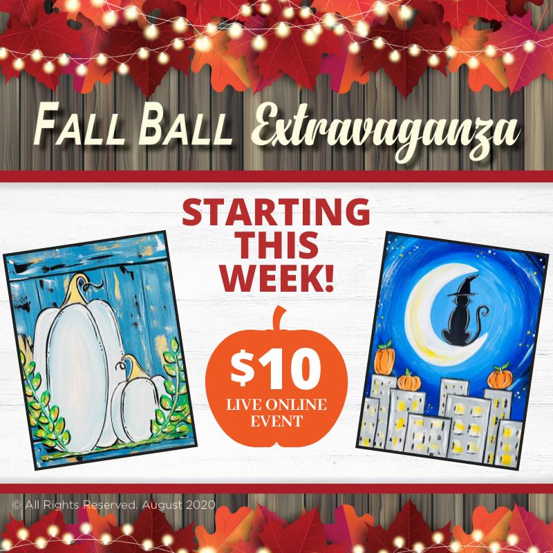 2021 Fall Ball Painting Extravaganza